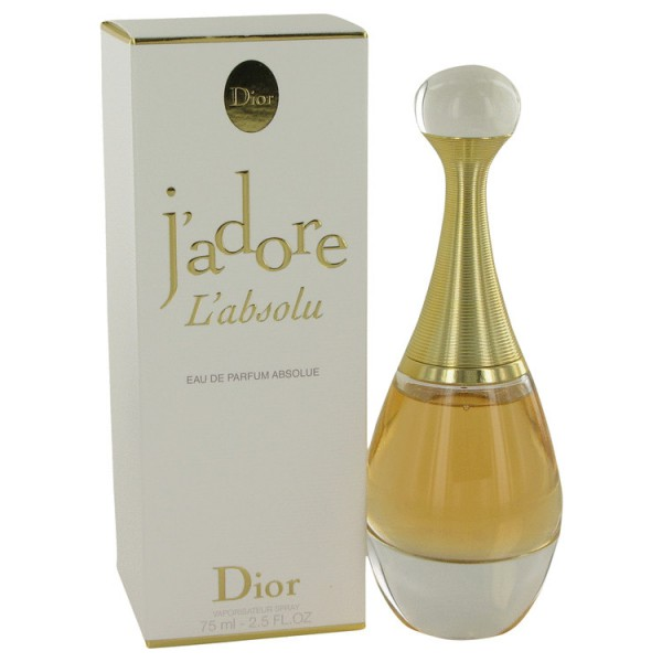 J\'adore L\'absolu Christian Dior Eau de Parfum Spray 75ML - Sobelia