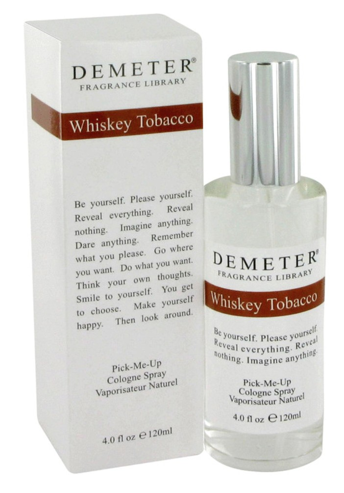 demeter fragrance library whiskey tobacco