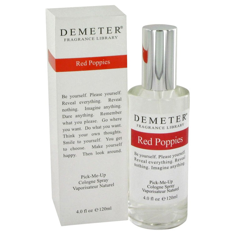 demeter fragrance library red poppies