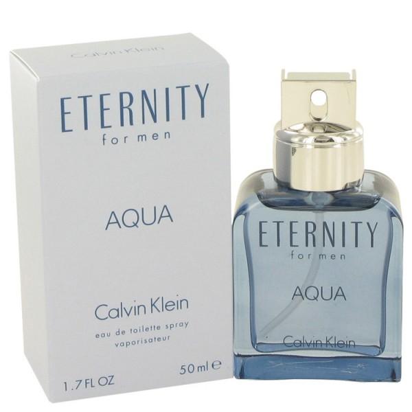 Eternity Aqua Calvin Klein Eau De Toilette Men 50 Ml