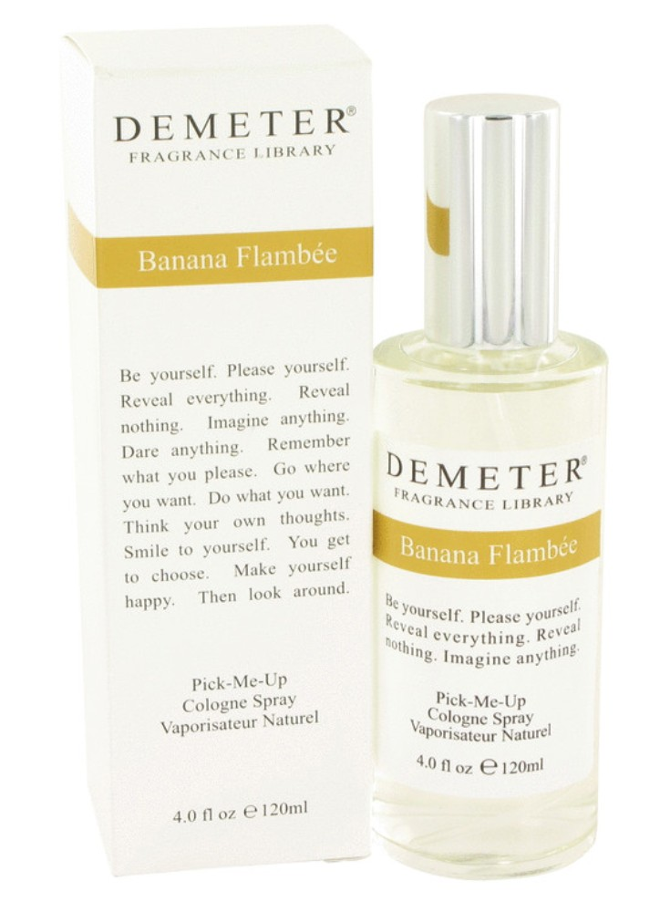 demeter fragrance library banana flambee