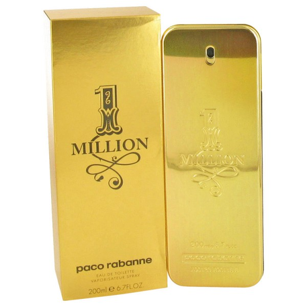 1 Million Paco Rabanne Eau De Toilette Spray 200ml Sobelia