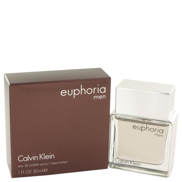Euphoria Calvin Klein Eau De Toilette Men 30 Ml