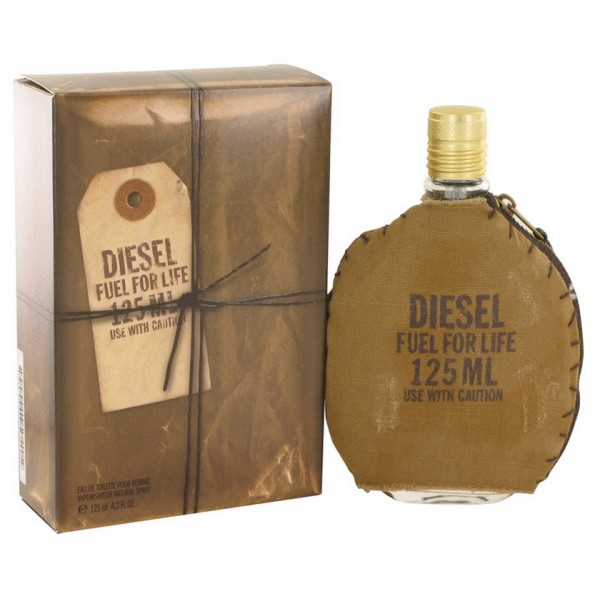 Fuel For Life Diesel Eau De Toilette Men 125 Ml