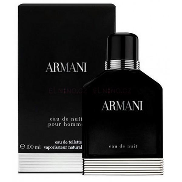 Eau De Nuit Giorgio Armani Eau De Toilette Spray 100ml Sobelia