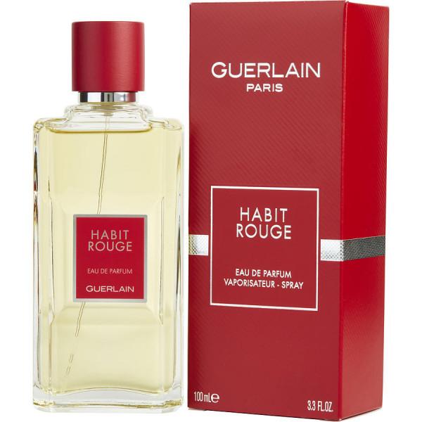 Habit Rouge Guerlain Eau De Parfum Men 100 Ml Sobelia Com