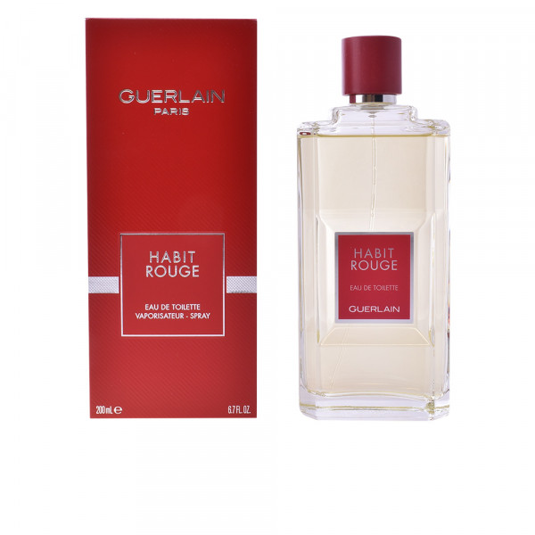 Habit Rouge Guerlain Eau De Toilette Men 200 Ml Sobelia Com