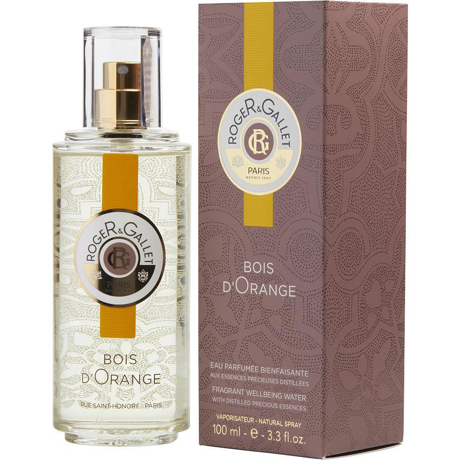 roger & gallet eau sublime or - bois d'orange