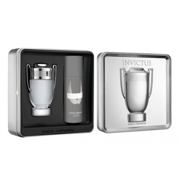 Invictus Paco Rabanne Gift Box Set 100ml Sobelia
