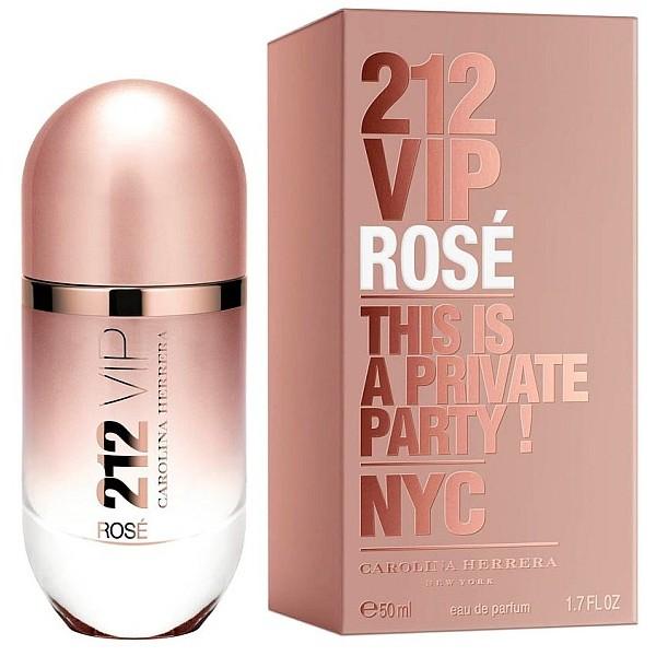 212 Vip Rosé Carolina Herrera Eau De Parfum Women 80 Ml