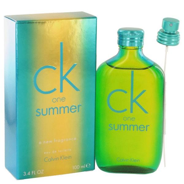 Ck One Summer Calvin Klein Eau De Toilette Unisex 100 Ml