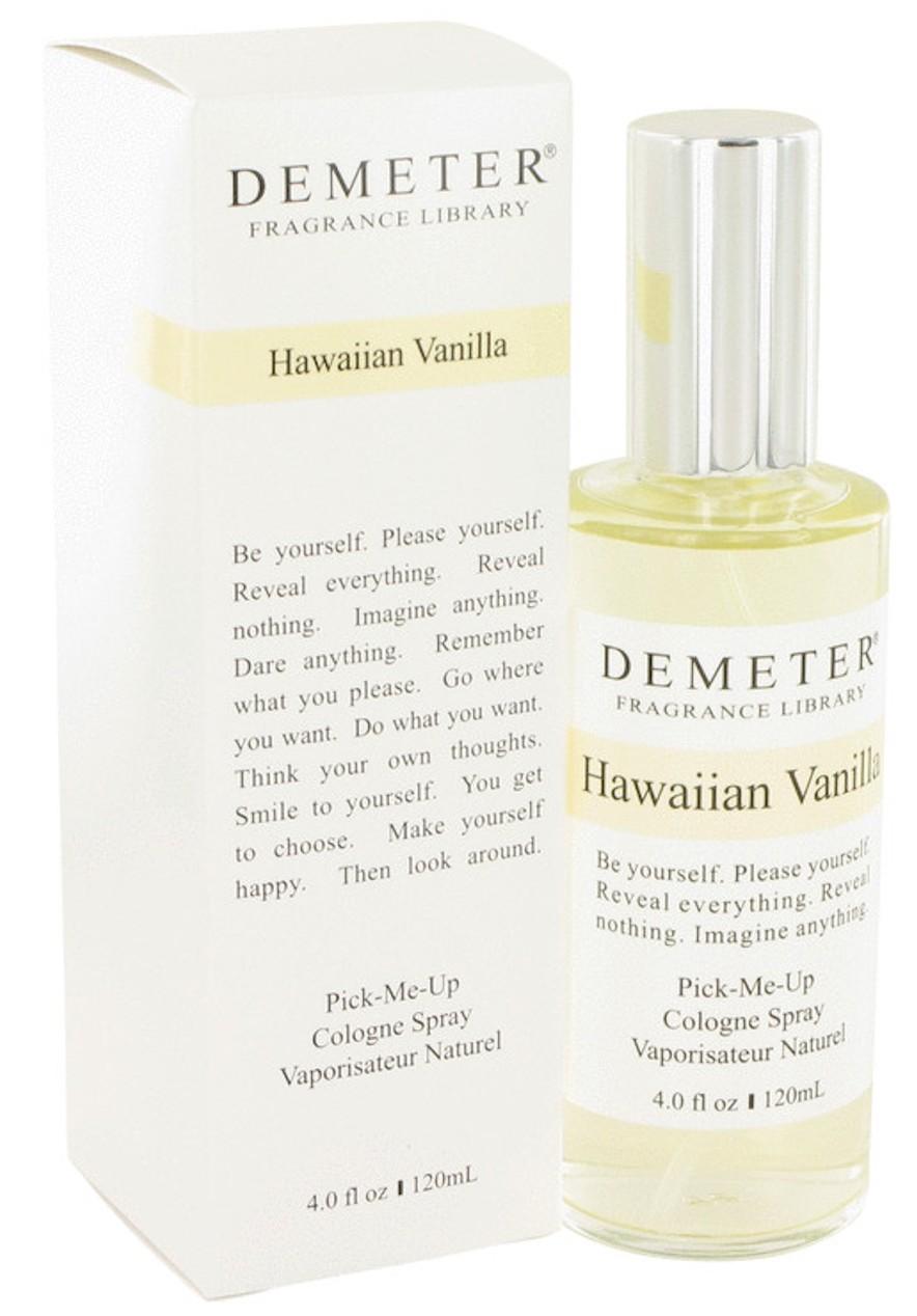 demeter fragrance library hawaiian vanilla