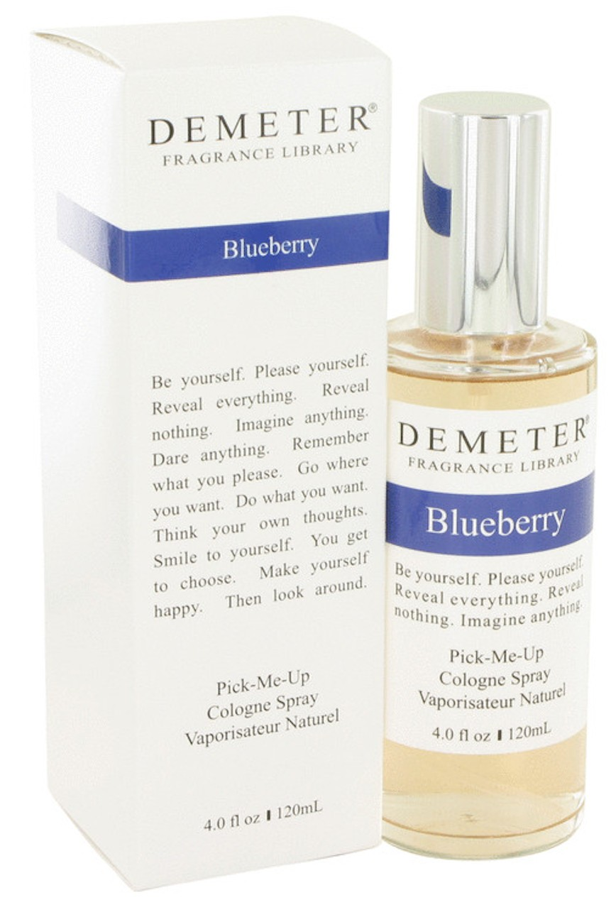 demeter fragrance library blueberry