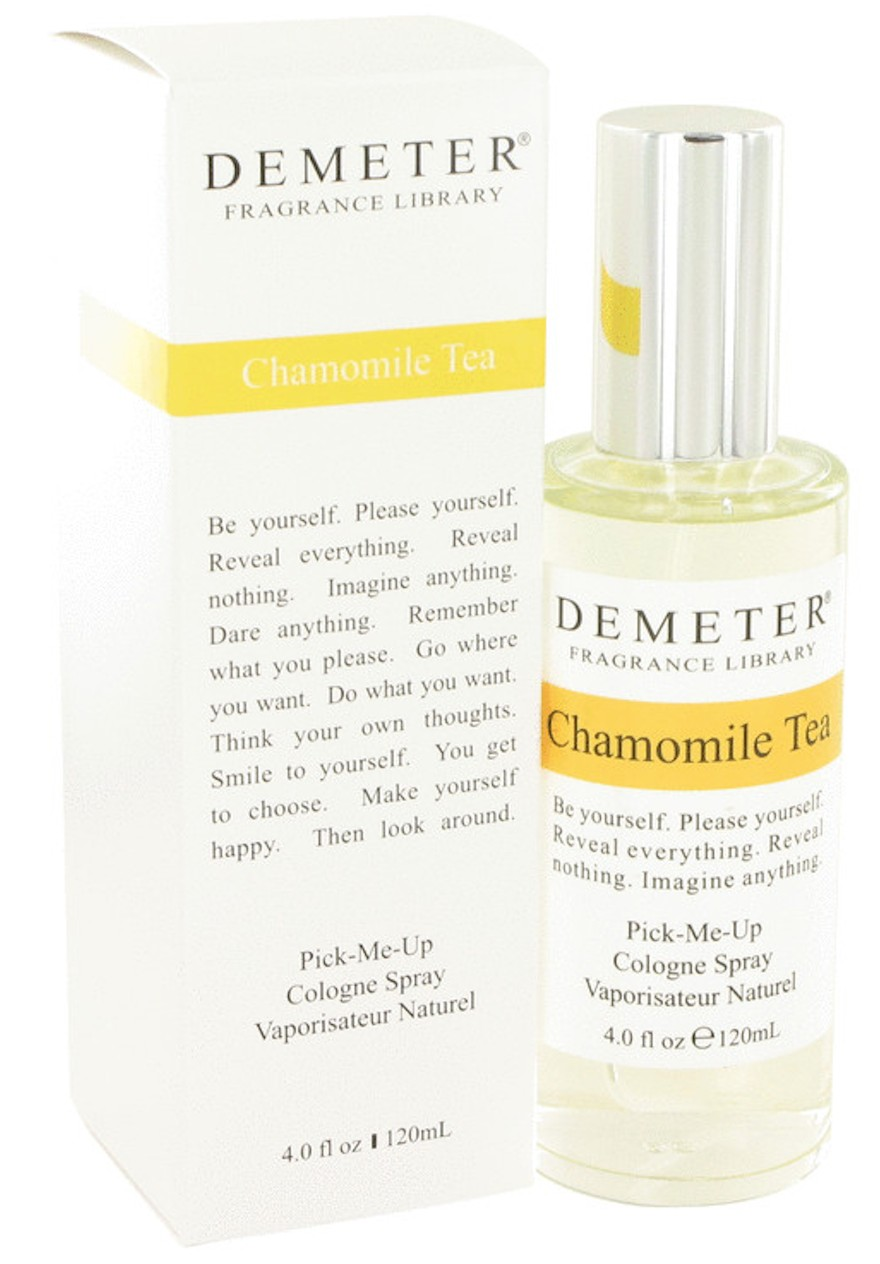 demeter fragrance library chamomile tea