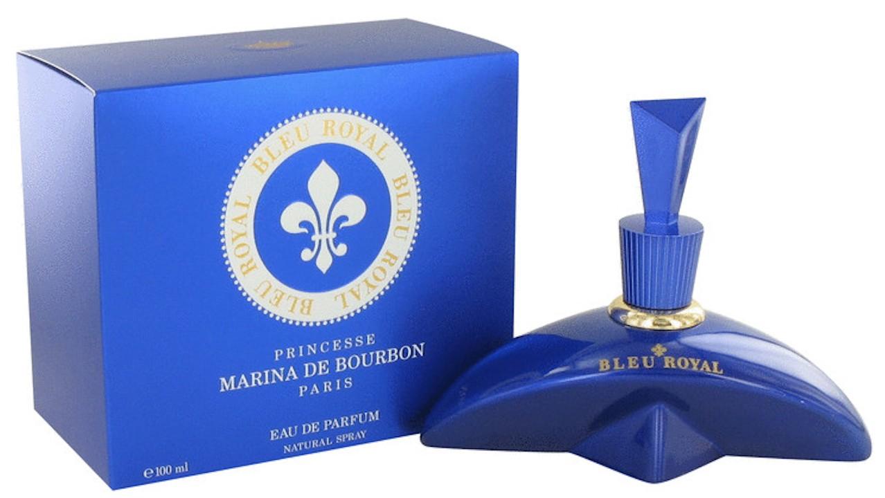 princesse marina de bourbon bleu royal