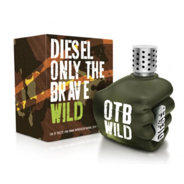 Only The Brave Wild Diesel Eau De Toilette Spray 125ml Sobelia