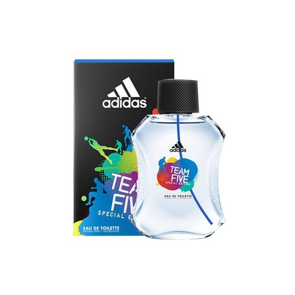 Adidas Team Five Eau De Toilette Men 100 Ml Sobeliacom