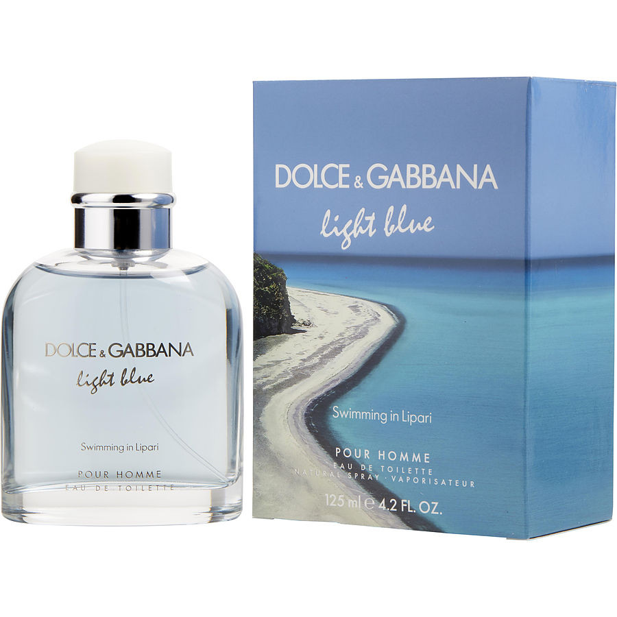 dolce & gabbana light blue pour homme swimming in lipari