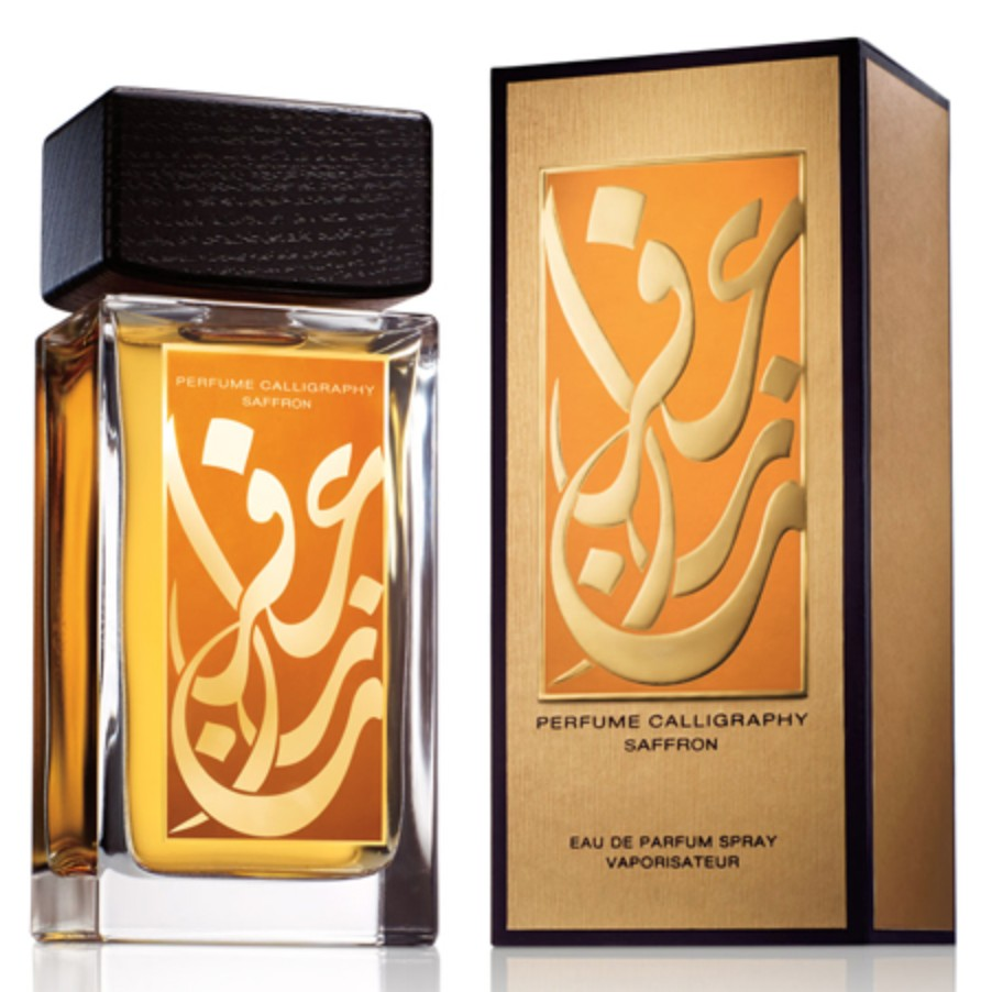 aramis perfume calligraphy saffron