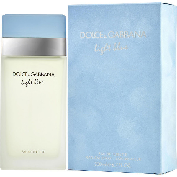 Light Blue Dolce Gabbana Eau De Toilette Women 200 Ml