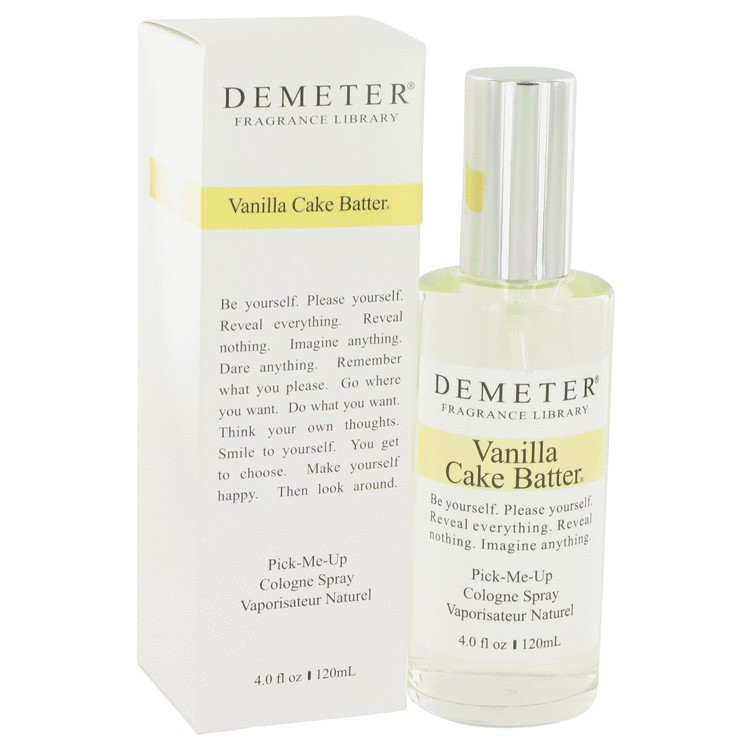 demeter fragrance library vanilla cake batter