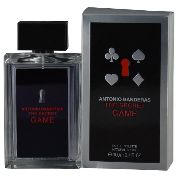 The Secret Game Antonio Banderas Eau De Toilette Spray 100ml Sobelia