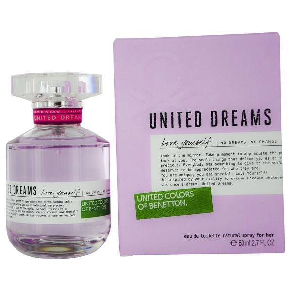United Dreams Love Yourself Benetton Eau De Toilette 80 Ml