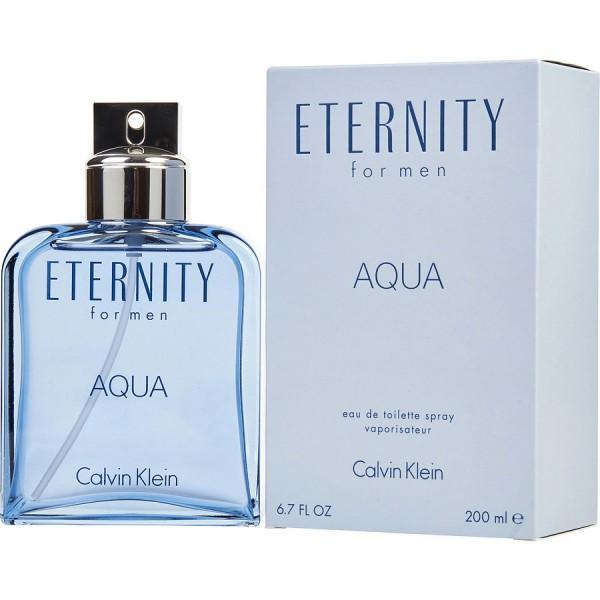 Eternity Aqua Calvin Klein Eau De Toilette Spray 200ml Sobelia