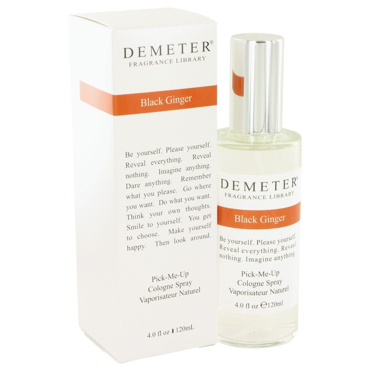 demeter fragrance library black ginger