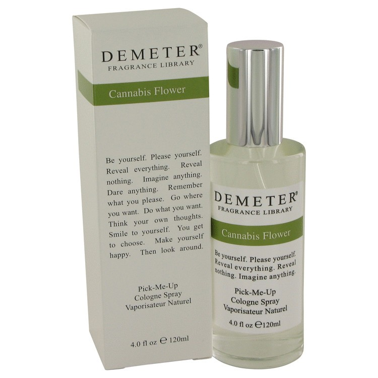 demeter fragrance library cannabis flower