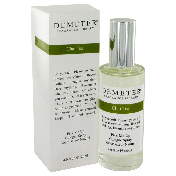 demeter fragrance library chai tea