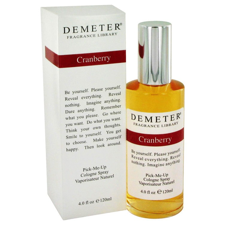 demeter fragrance library cranberry