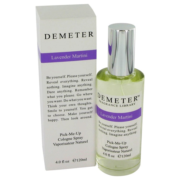 demeter fragrance library lavender martini