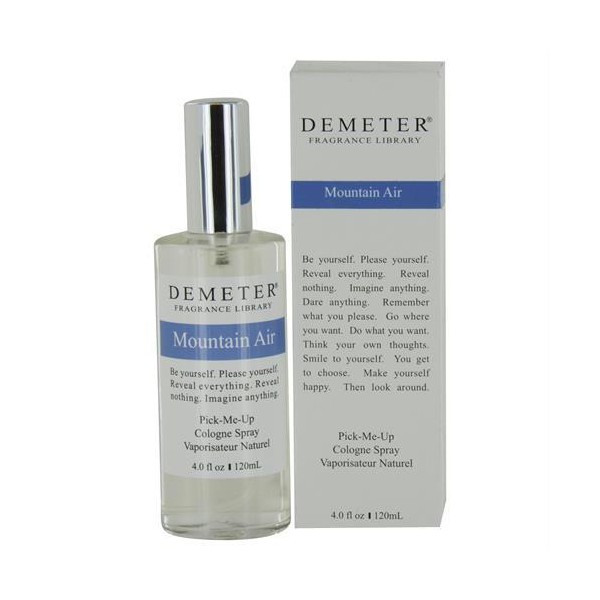 demeter fragrance library mountain air