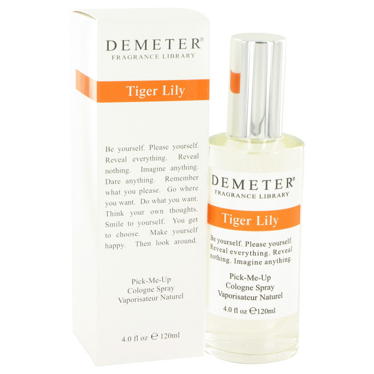 demeter fragrance library tiger lily