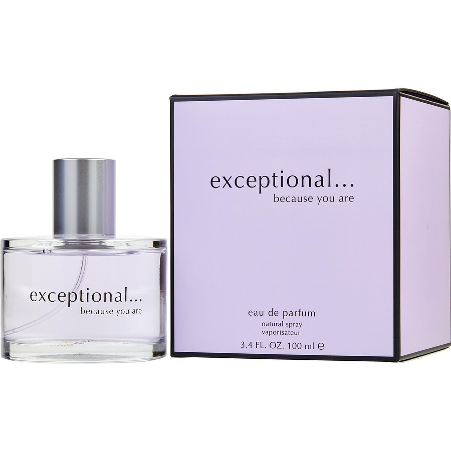 exceptional exceptional because you are