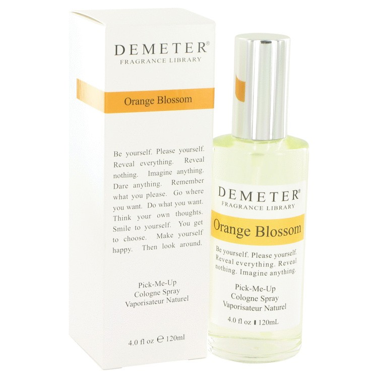 demeter fragrance library orange blossom