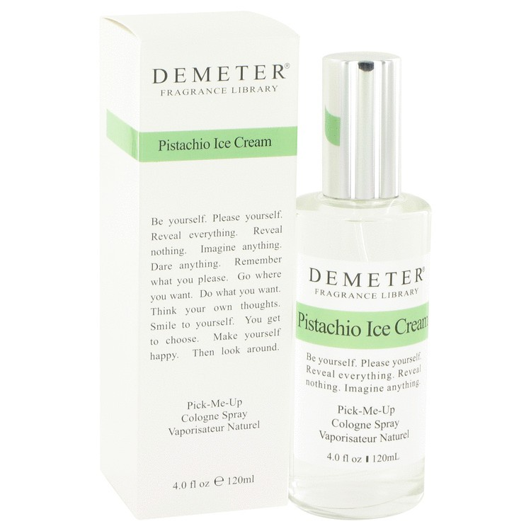 demeter fragrance library pistachio ice cream
