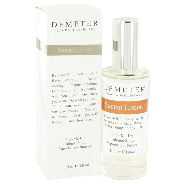 demeter fragrance library suntan lotion