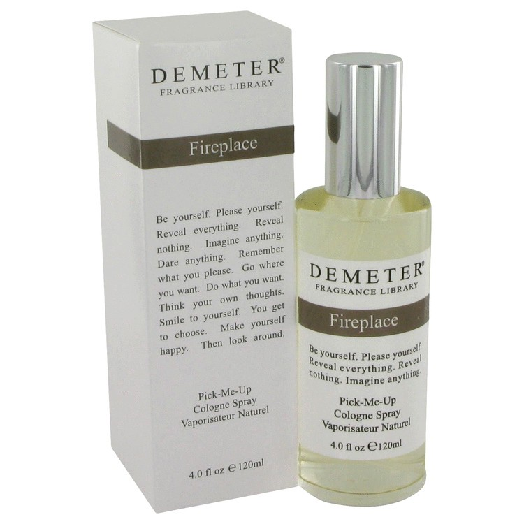 demeter fragrance library fireplace