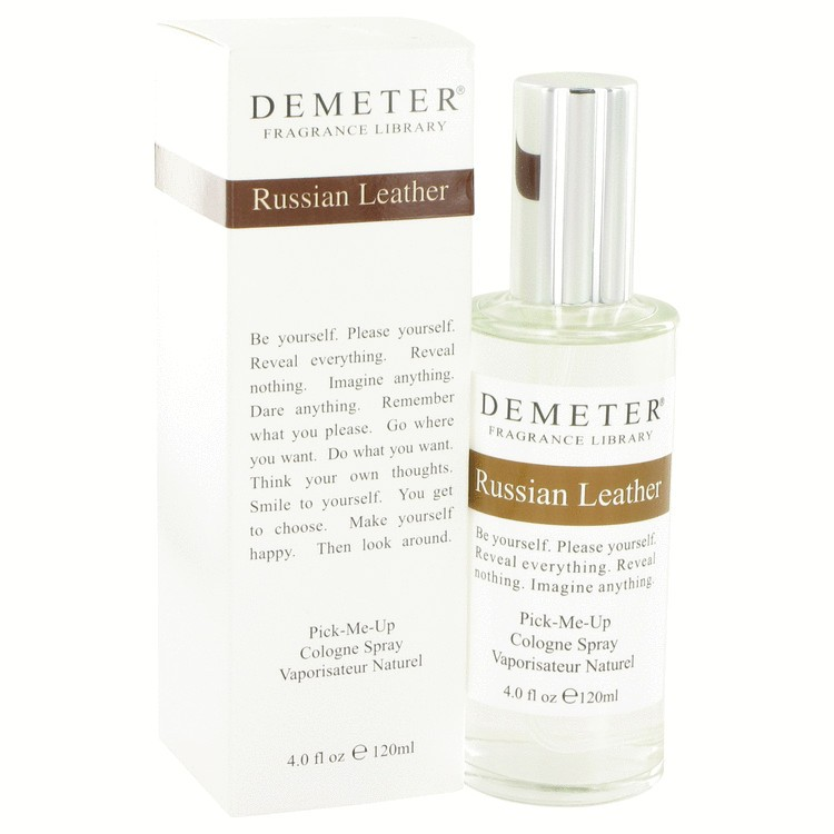 demeter fragrance library russian leather