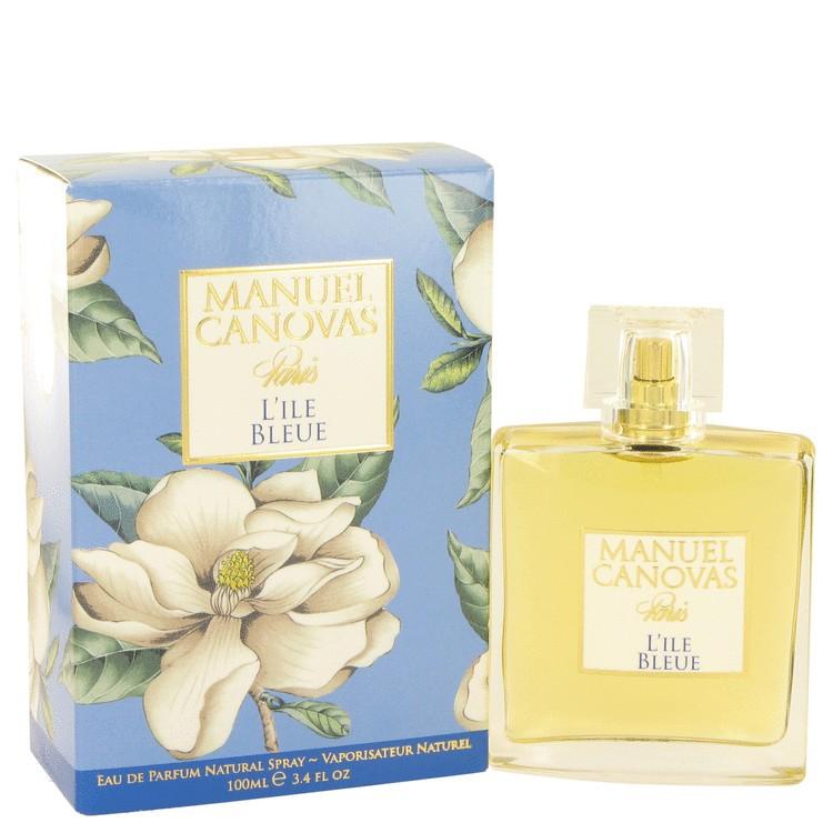 manuel canovas les fantaisies parfumees - l'ile bleue
