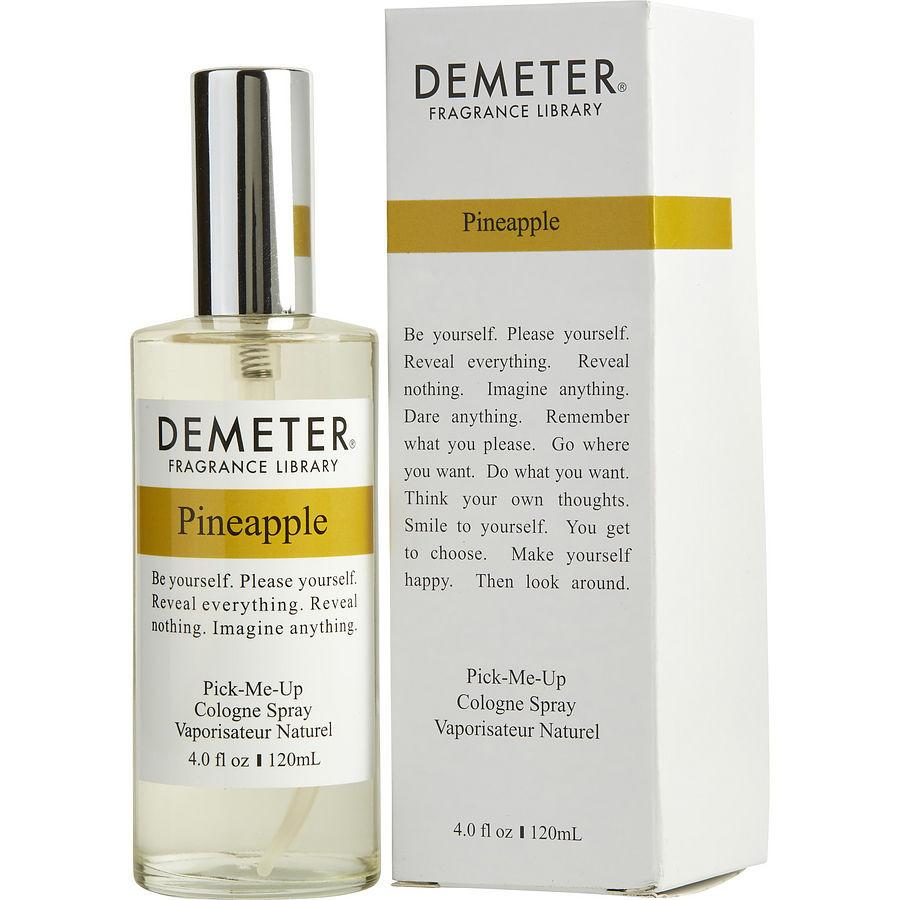 demeter fragrance library pineapple