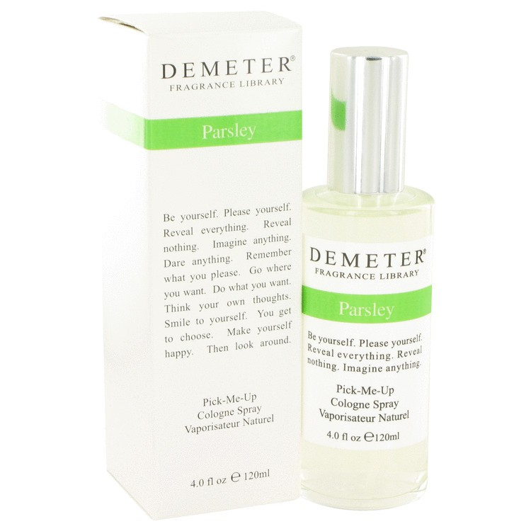 demeter fragrance library parsley