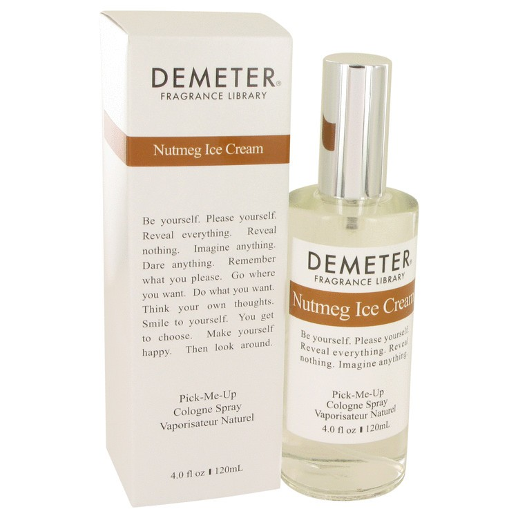 demeter fragrance library nutmeg ice cream