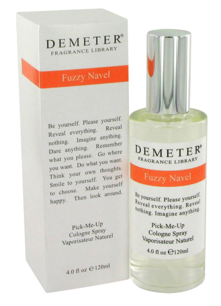 demeter fragrance library fuzzy navel