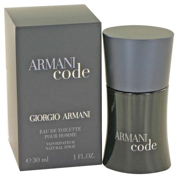 Armani Code Giorgio Armani Eau De Toilette Men 30 Ml