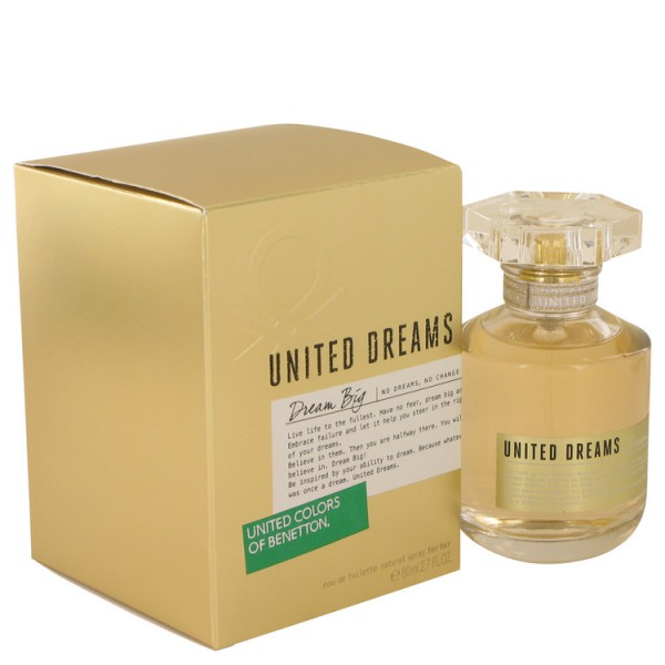 United Dreams Dream Big Benetton Eau De Toilette 80 Ml