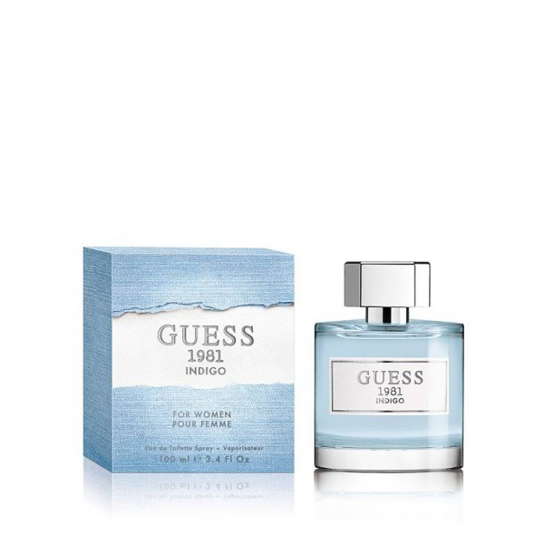 Guess 1981 Indigo Eau De Toilette Women 100 Ml Sobeliacom