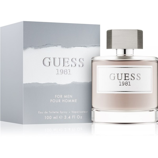 Guess 1981 Eau De Toilette Men 100 Ml Sobeliacom